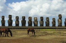 Easter Island moai - photo by Kirsten Koza