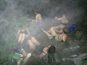 Guatemala hot springs - photo by Kirsten Koza
