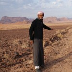 Salem, your Bedouin host, Wadi Rum. (Photo by Kirsten Koza, Writers' Expeditions)
