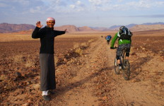 Bedouin & Bikes - Wadi Rum Jordan - photo by Kirsten Koza