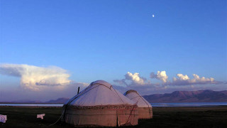 Writers' Expeditions Kyrgyzstan yurts