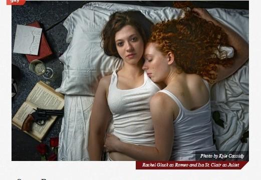 Romeo and Juliet Gets Death Threats - by Kirsten Koza - The Blot magazine