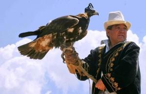 Kyrgz eagle hunter