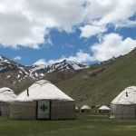 Yurts - Tash Rabat - Writers' Expeditions