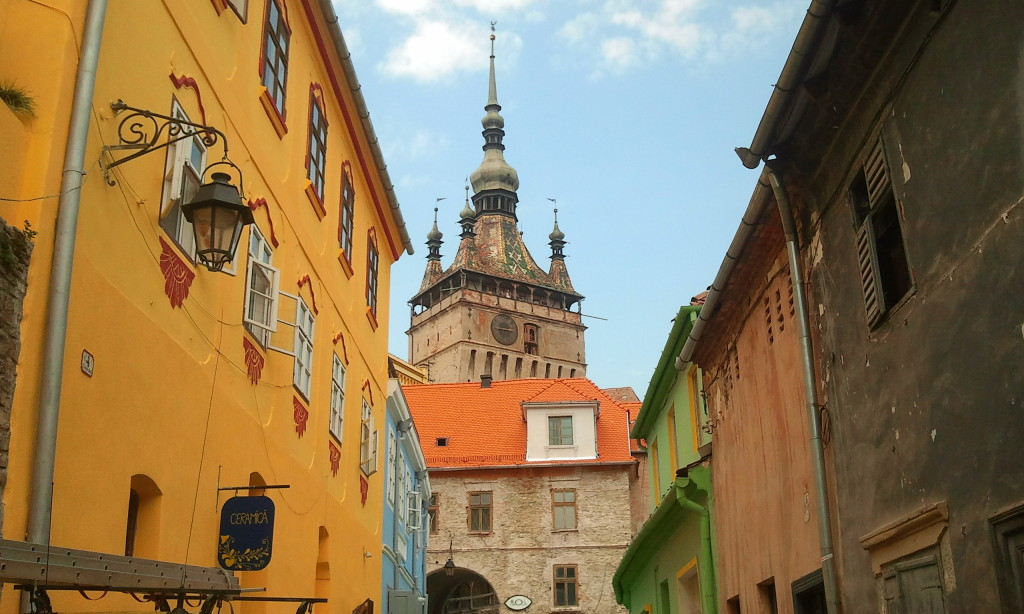 Sighisoara, Romania. (Photo by our local guide and expert - Writers' Expeditions)