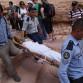 Jordan Petra, tourist collapses, photo by Kirsten Koza