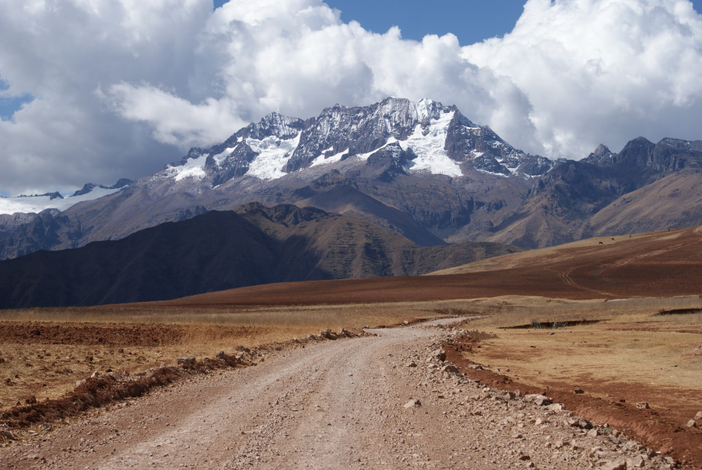 Peru, Andes, between Cusco and Ollantaytambo - photo by Kirsten Koza