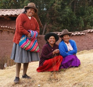 Ladies of Cusco Region Peru (photo by Kirsten Koza)