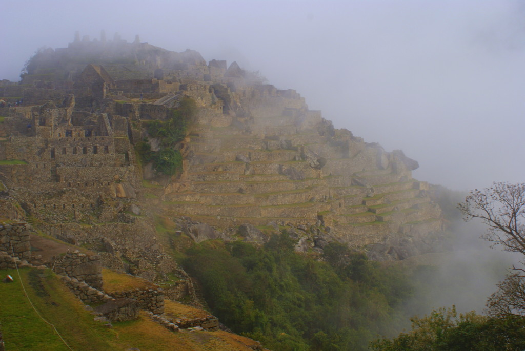 Machu Picchu in the morning mist (photo by Kirsten Koza)
