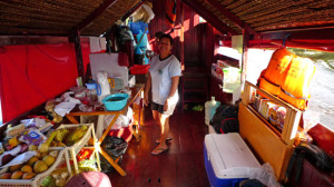 Photo: by Dawn on the Amazon - the galley