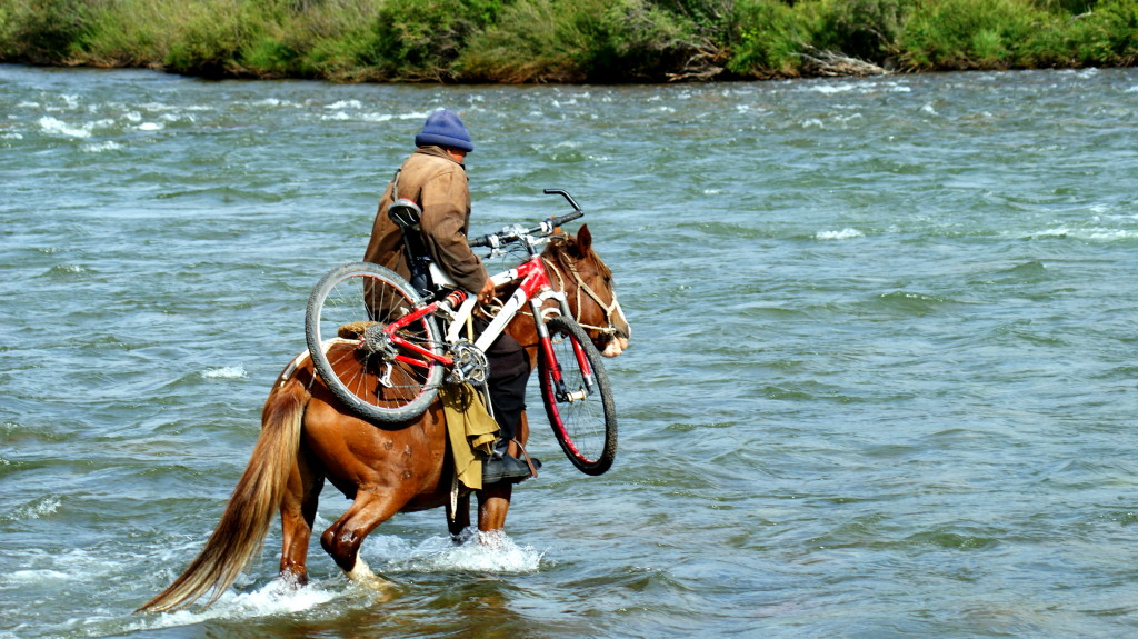 How I crossed Kyrgyzstan on my first trip. (Photo by Kirsten Koza)