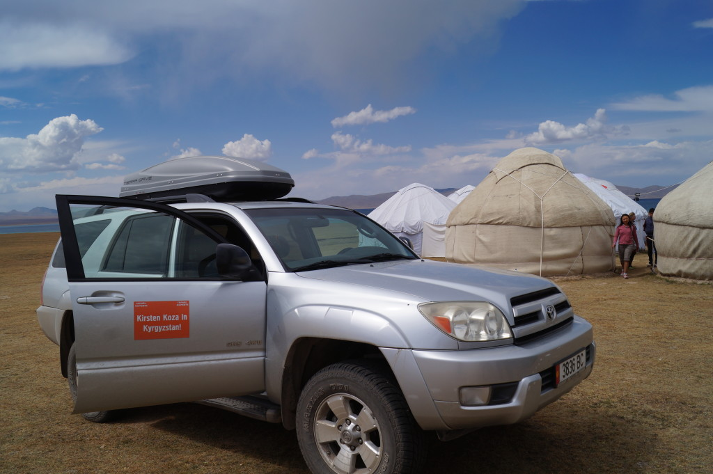 How I crossed Kyrgyzstan on my second trip, in 2014. (Photo by Kirsten Koza)