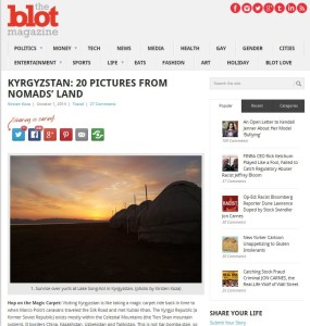 the blot kyrgyzstan story screen capture