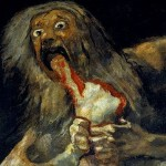Saturn Devouring His Son by Francisco Goya (public domain)
