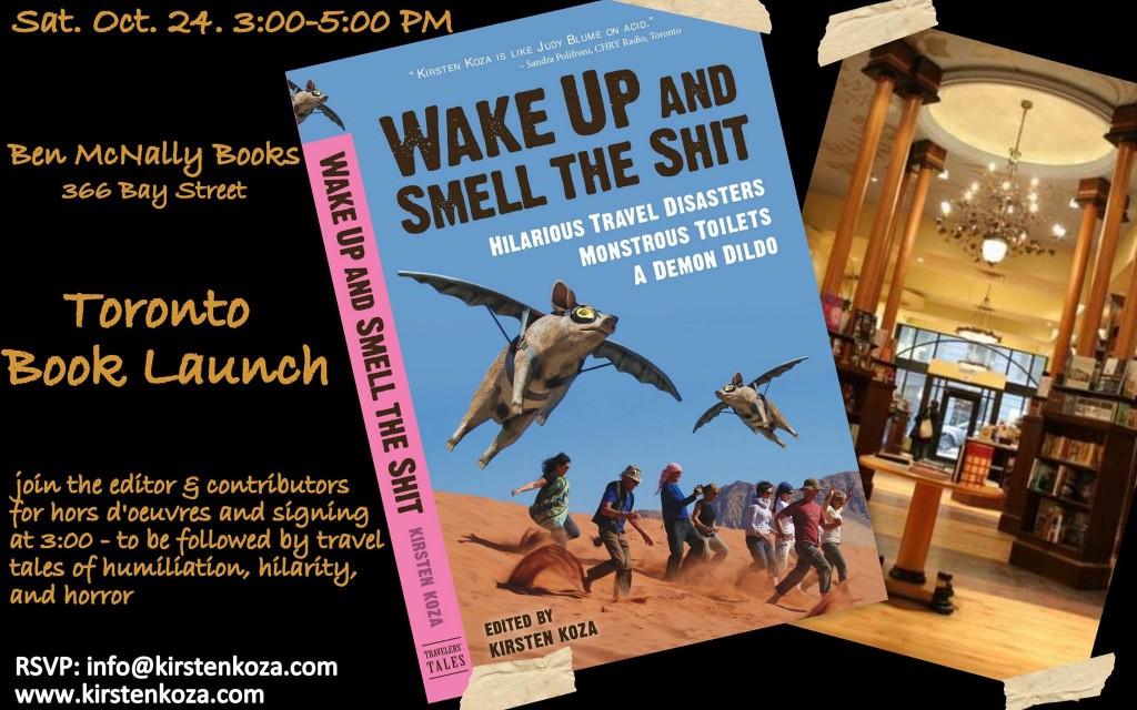Toronto book launch evite