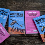 Wake Up book on bench