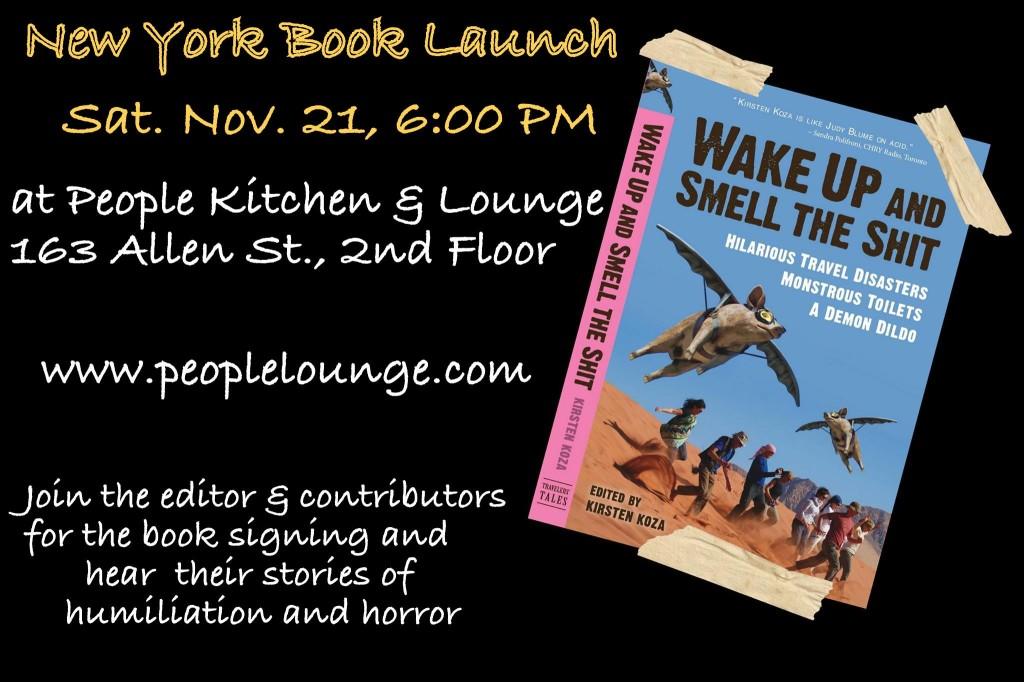 New York book launch