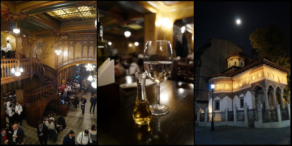 The Beer Chariot, palinca (overproof plum brandy), and night photography on the historic pedways of Bucharest. (Photo by Kirsten Koza)