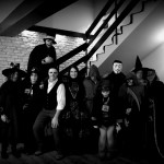 Our Vlad Dracula Expedition group, from 2015, getting ready for the Halloween party at Bran Castle, Transylvania. (Writers' Expeditions)