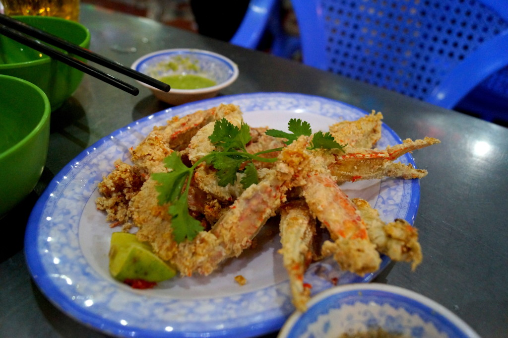 Crab, Ho Chi Minh City (Photo by Kirsten Koza, Writers' Expeditions)