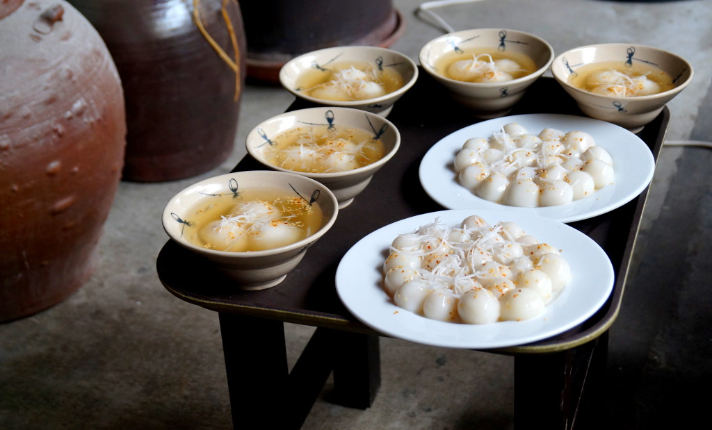 Full moon festival sweets, Vietnam (Photo by Kirsten Koza, Writers' Expeditions)