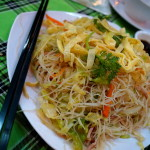 Street food noodles, Saigon (Photo by Kirsten Koza, Writers' Expeditions)