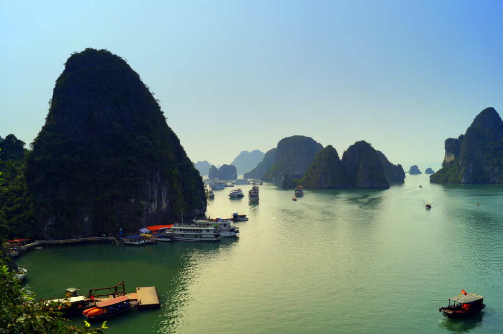Ha Long Bay, Vietnam. (Photo by Kirsten Koza, Writers' Expeditions)