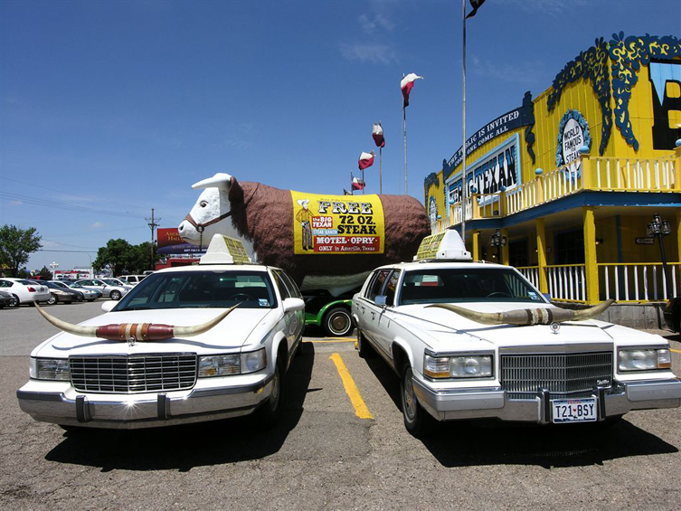 The Big Texan, Amarillo (Photo by Kirsten Koza)