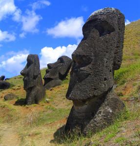 Rano Raraku, Easter Island (image public domain)