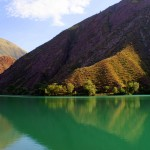 Lake Ak-Kol in Kyrgyzstan (Photo by Kirsten Koza)