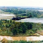 helicopter spraying agent orange (public domain)