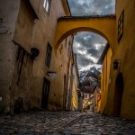 Sighisoara, Romania - this medieval walled city is a UNESCO site (Photo by Christopher Campbell for Writers' Expeditions)