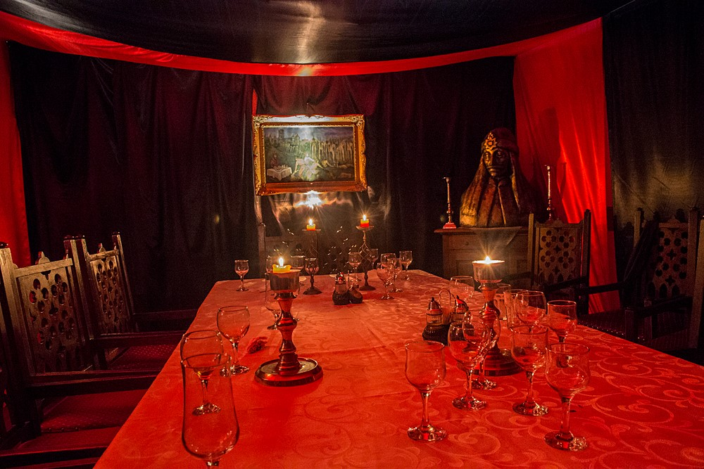 We'll dine in the room where Vlad Dracula was born in 1431 (Photo by Christopher Campbell)