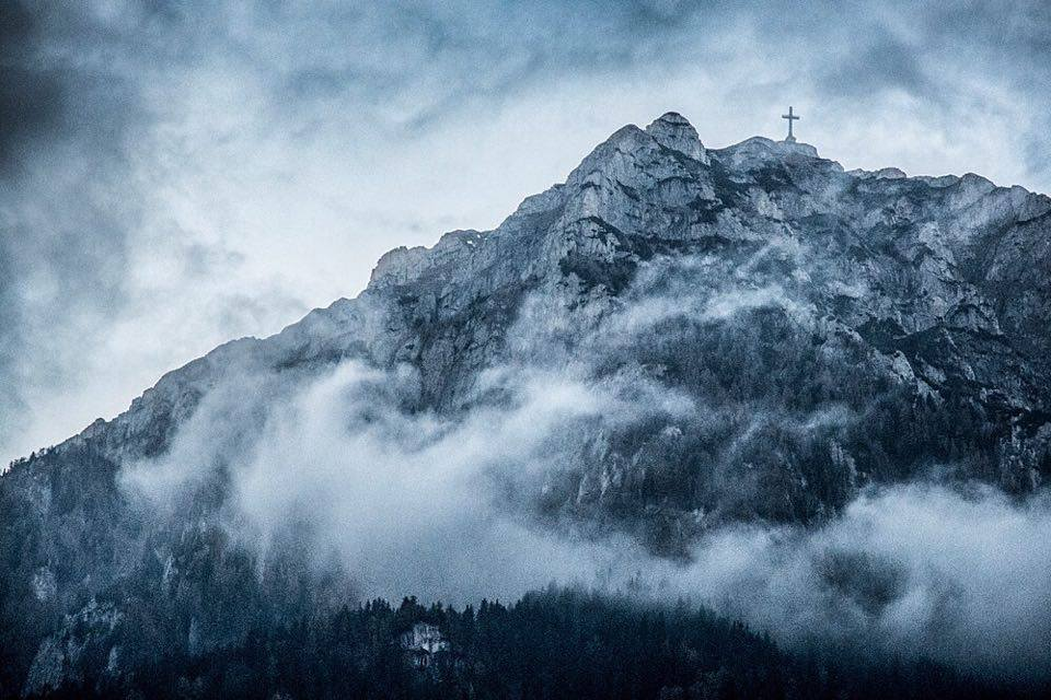 Transylvania, Romania, Heroes' Cross, Caraiman Peak (Photo by Christopher Campbell)