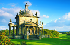 Temple of the Four Winds, at Castle Howard, Yorkshire.