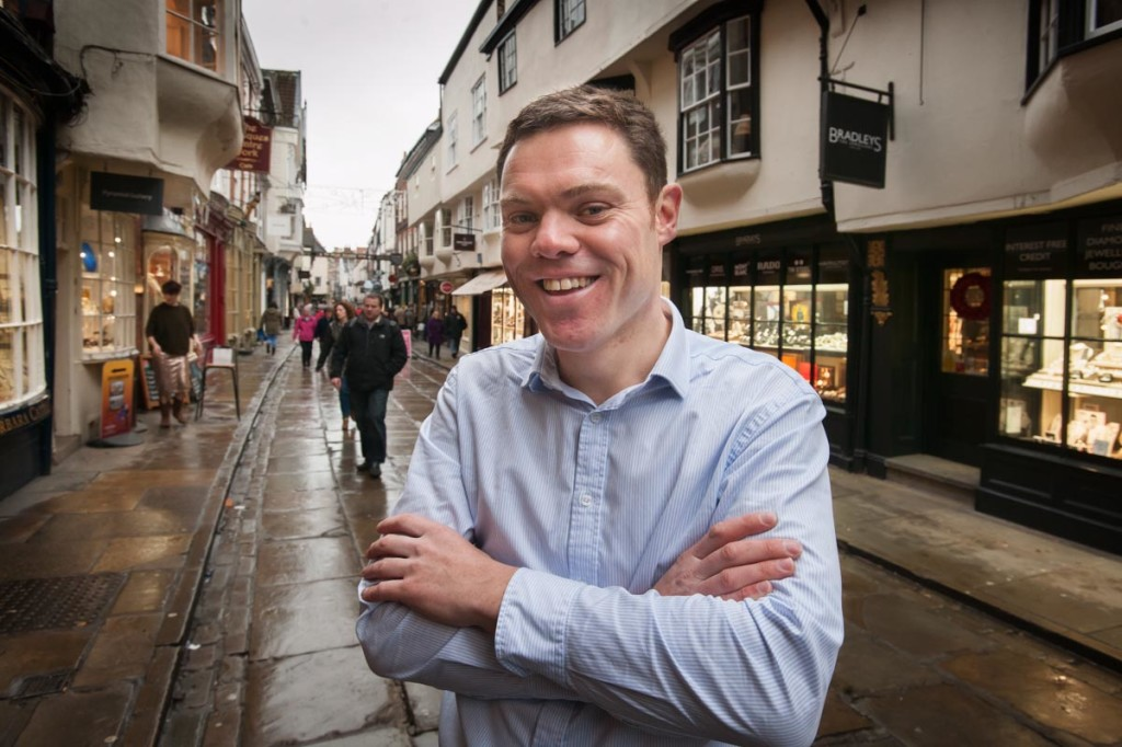 Matthew Greenwood of Exploring York