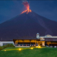 La Reunion Hotel, with a view of the constantly low-active volcano, Fuego.