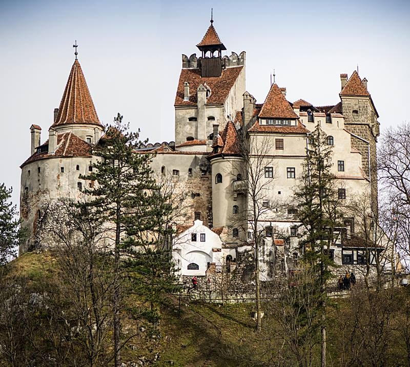 "Bran Castle, known as ""Dracula's Castle."" (Photo by Christopher Campbell, Writers' Expeditions)"