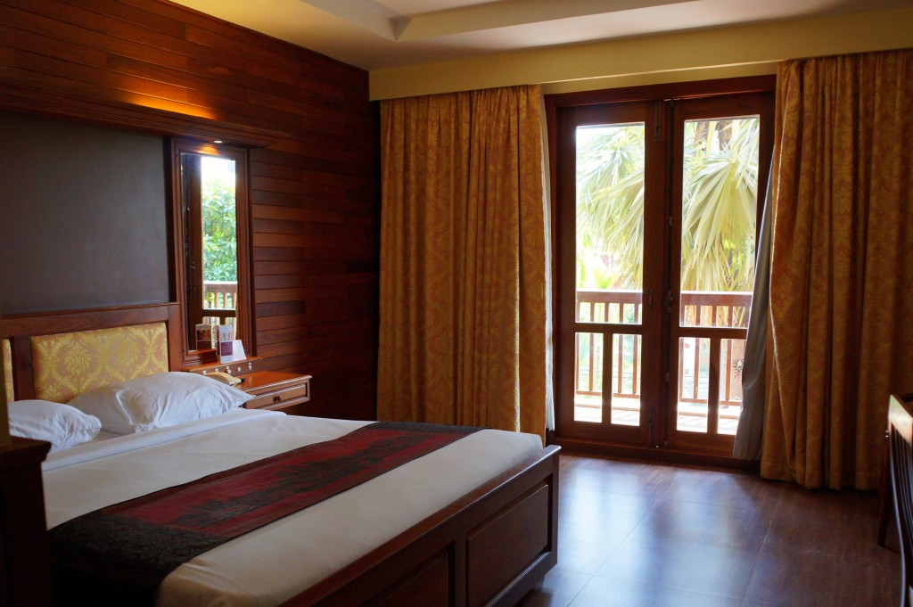 City River hotel room, Siem Reap, Cambodia. (Photo by Kirsten Koza)