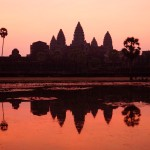 Cambodia, sunrise over Angkor Wat (Photo by Kirsten Koza)