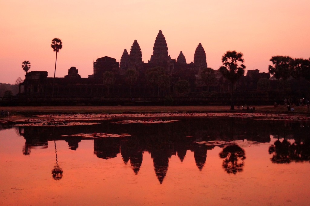 Sunrise over Angkor Wat (Photo by Kirsten Koza)