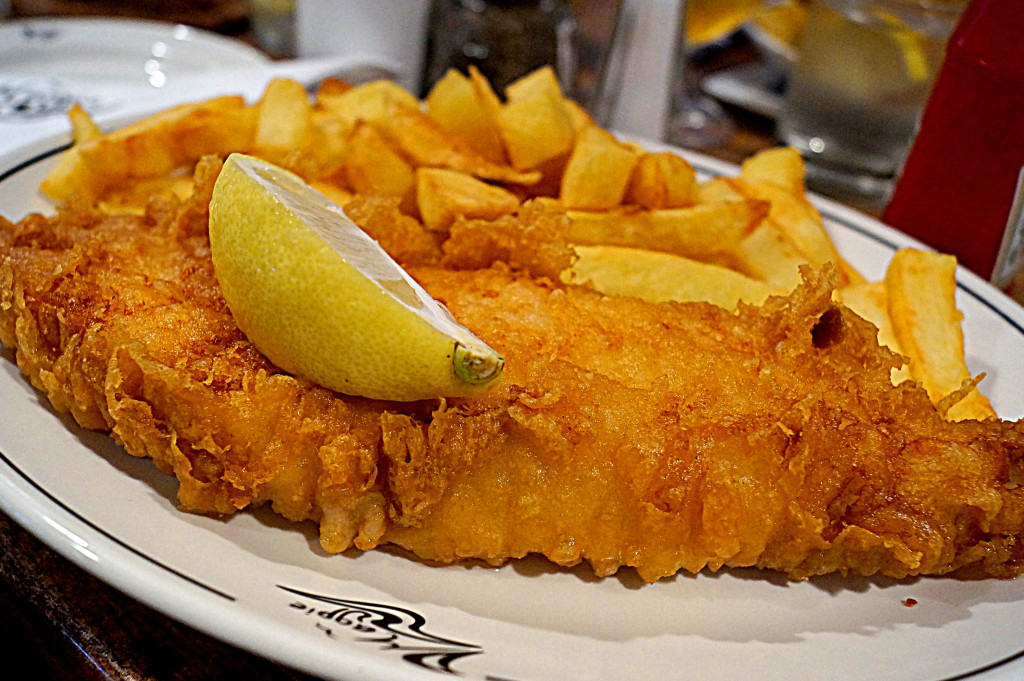 Cod & Chips at The Magpie (photo by Kirsten Koza)