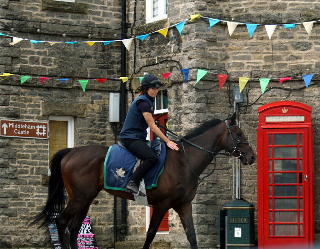 Middleham, Yorkshire, So English (photo by Kirsten Koza)