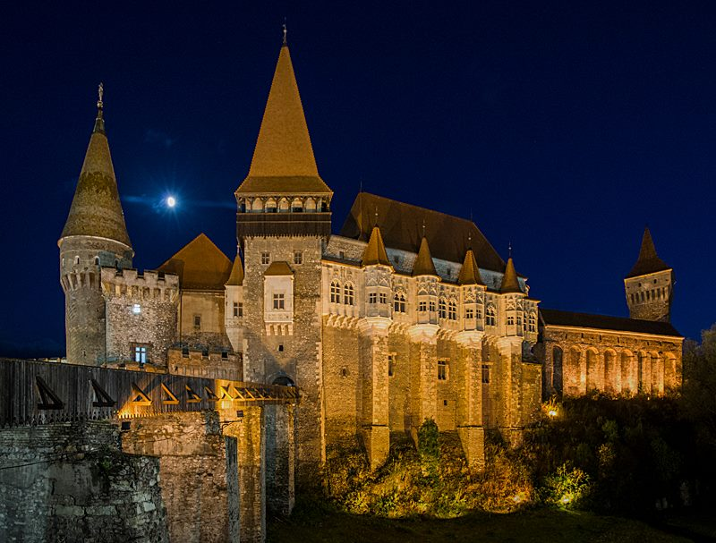 Corvin Castle. (photo by Christopher Campbell, Writers' Expeditions)