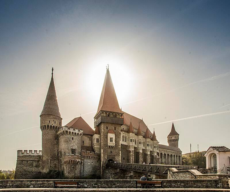 Corvin Castle, Hunedoara. (Photo by Christopher Campbell, Writers' Expeditions)