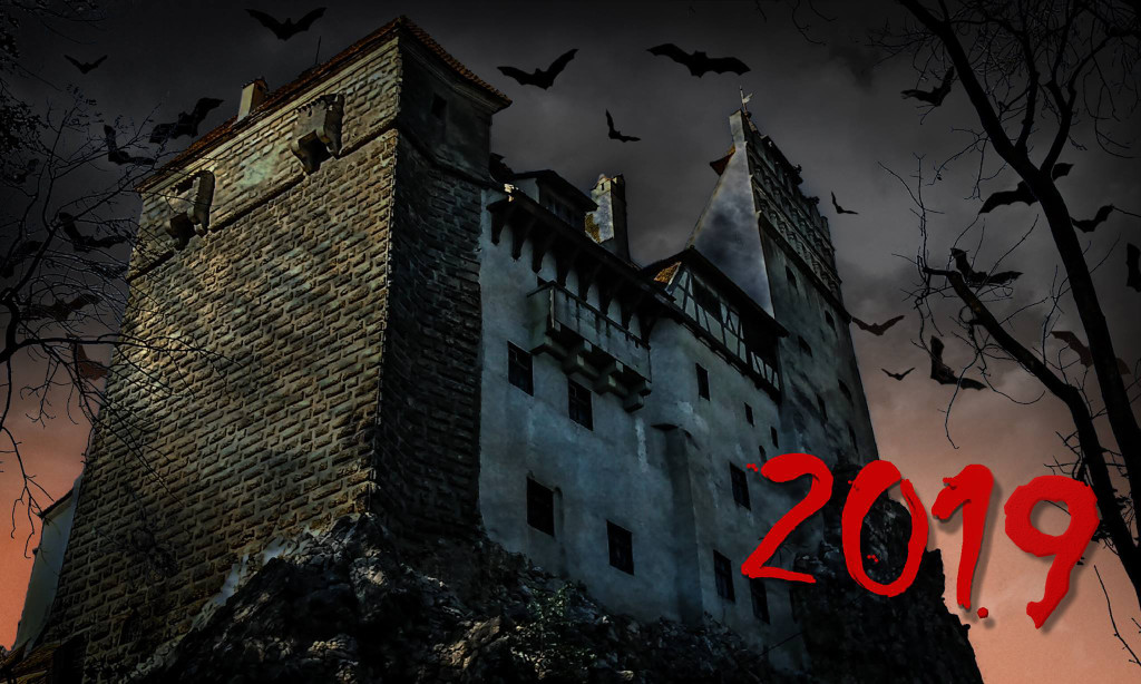 Writers' Expeditions annual Vlad Dracula Halloween expedition cover photo 2019