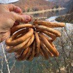 Romanian pretzels in Transylvania. (Photo by Christopher Campbell, Writers' Expeditions)