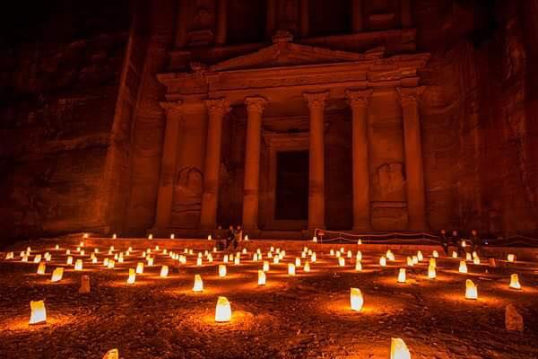 We'll experience Petra by candlelight and will get to experiment with night photography. (Photo by Christopher Campbell)