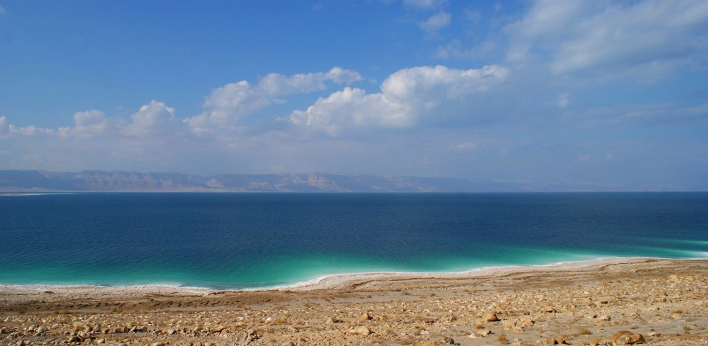The Dead Sea, Jordan. (Photo by Kirsten Koza, Writers' Expeditions)