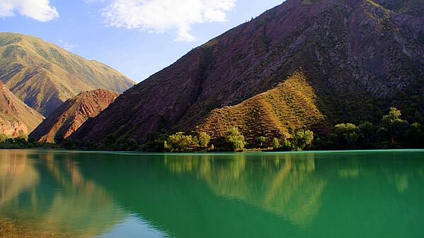 Lake Ak Kol, Kyrgyzstan (Photo by Kirsten Koza)